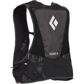 Black Diamond Distance 4 Gilet d'hydratation, black